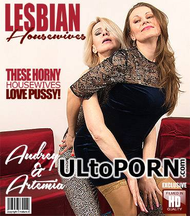 Mature.nl, Mature.eu: Artemia, Audrey - Horny housewives Audrey and Artemia fooling around [1.91 GB / FullHD / 1080p] (Lesbian) + Online