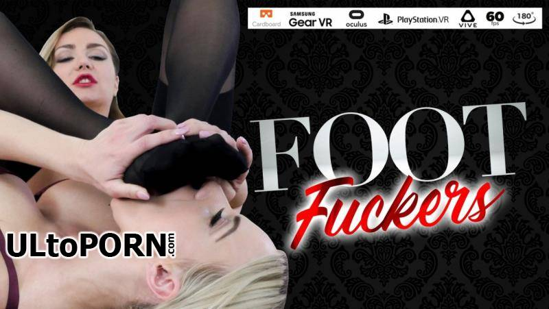 StockingsVR.com: Nathaly Cherie, Victoria Puppy - Foot Fuckers [1.88 GB / 2K UHD / 1920p] (VR)