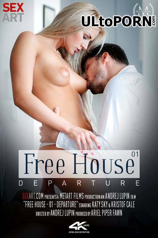 SexArt.com, MetArt.com: Katy Sky - Free House Episode 1 - Departure [1.13 GB / FullHD / 1080p] (Blonde)