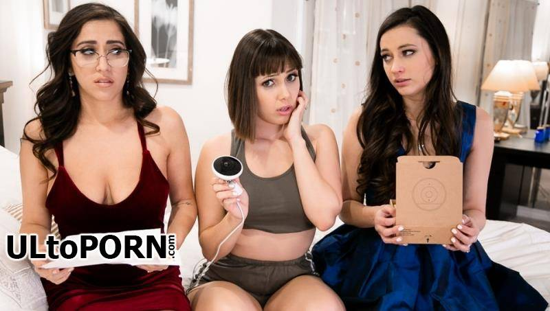 GirlsWay.com: April O'Neil, Jenna Sativa, Georgia Jones - 12 Hours [1.44 GB / FullHD / 1080p] (Facesitting)
