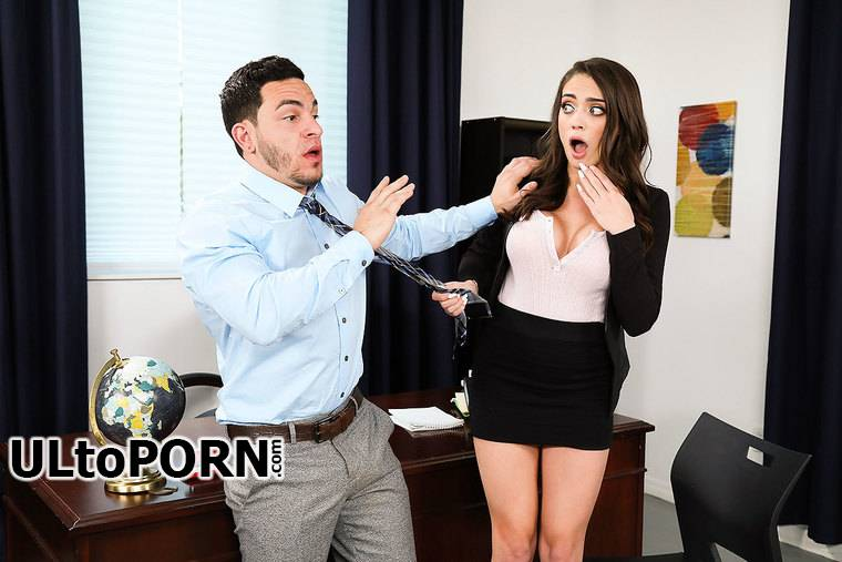 NaughtyOffice.com, NaughtyAmerica.com: Ashly Anderson - Teen with Big Tits [390 MB / SD / 480p] (Teen)