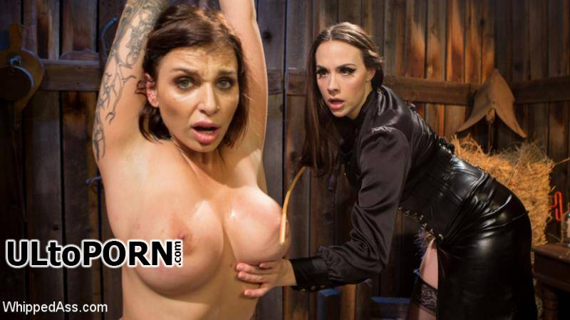 WhippedAss.com, Kink.com: Chanel Preston, Ivy Lebelle - Busty Thief Captured And Tased To Orgasm! [655 MB / SD / 540p] (Femdom)