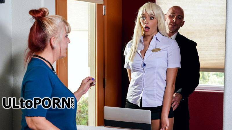 BigTitsAtWork.com, Brazzers.com: Athena Palomino - Checking Into Athena [628 MB / HD / 720p] (Fetish)