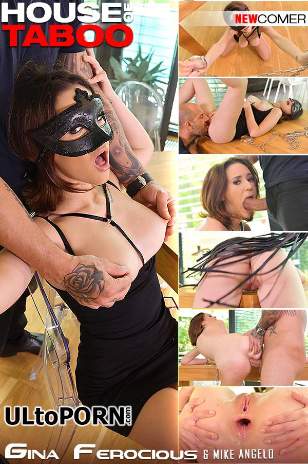 HouseOfTaboo.com, DDFNetwork.com: Gina Ferocious - Submissive Anal Pounding [710 MB / SD / 540p] (Spanking)