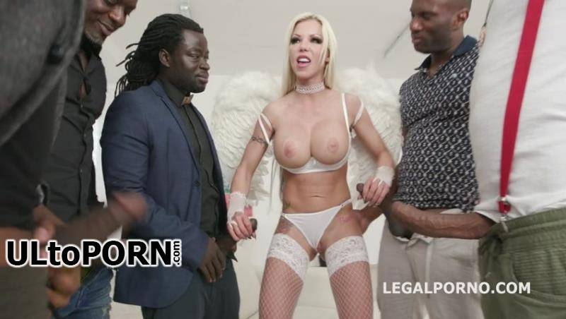 LegalPorno.com: Barbie Sins, Yves Morgan, Antonio Black, Dylan Brown, Freddy Gong - Waka Waka, Blacks are Coming! Barbie Sins goes black for the first time with Balls Deep Anal DAP Gapes Swallow GIO694 [982 MB / SD / 480p] (Anal)