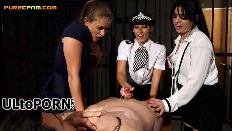 PureCFNM.com: Catalia Valentine, Clea Gaultier, Honour May - Parole Hearing [117 MB / HD / 720p] (Humiliation)
