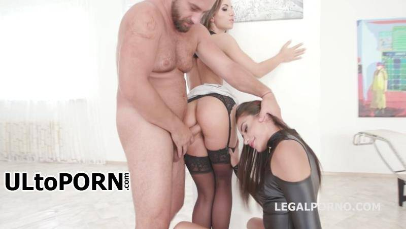 LegalPorno.com: Kristy Black, Avi Love, Neeo, Angelo - Simply Beautiful #1 Kristy Black & Avi Love Domination, Balls Deep Anal, DAP, GAPES, Creampie to Swallow GIO719 [896 MB / SD / 480p] (Anal)