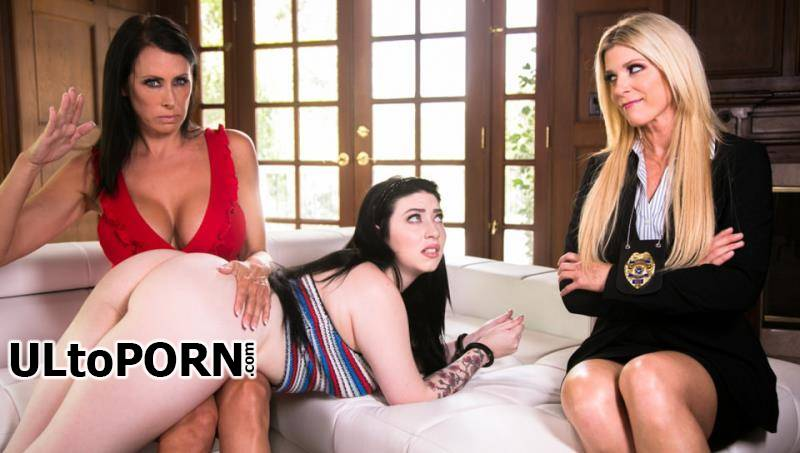 GirlsWay.com, MommysGirl.com: India Summer, Reagan Foxx, Amilia Onyx - India Summer, Reagan Foxx & Amilia Onyx Caught By The Cop [1.69 GB / FullHD / 1080p] (Incest)