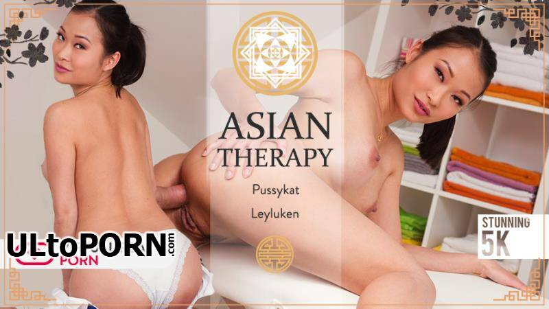 VirtualRealPorn.com: Leyluken, Pussykat - Asian therapy [4.40 GB / UltraHD 4K / 2160p] (Gear VR)