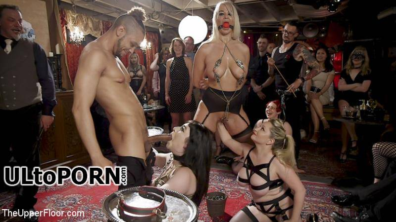 TheUpperFloor.com, Kink.com: Aiden Starr, London River, Amilia Onyx - The Anal Submissive MILF And The Big - Titted 19 Year Old [2.84 GB / HD / 720p] (Humiliation)