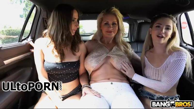 FuckTeamFive.com, BangBros.com: Ashley Adams, Jane Wilde, Ryan Conner - Wildest Limo Ride A La Fuck Team 5 [509 MB / SD / 480p] (Group Sex)