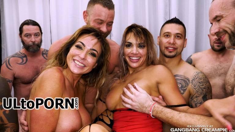 GangbangCreampie.com: Aubrey Black, Mercedes Carrera - GangBang Creampie  188 (7 Creampies