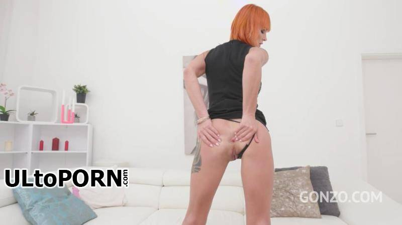 LegalPorno.com: Kessie Shy, Ed Junior, Charlie Mac, Chris Diamond, Potro De Bilbao - Redhead slut Kessie Shy no holes barred fuck session with Gonzo monster cock team SZ2068 [1.91 GB / HD / 720p] (Anal)