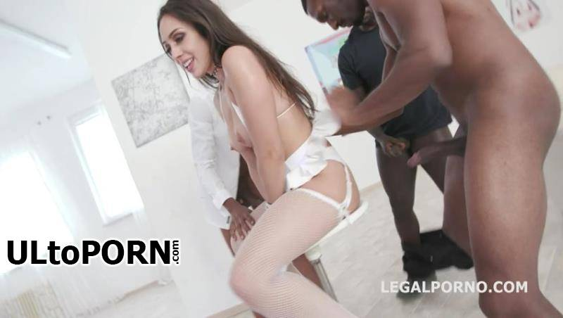 LegalPorno.com: Lilly Hall, Yves Morgan, Dylan Brown, Freddy Gong, Mr. Longwood - Waka Waka Blacks are Coming, Lilly Hall gets 5 BBC, balls deep anal, DP, DAP, Gapes, Creampie & Swallow GIO771 [904 MB / SD / 480p] (Anal)
