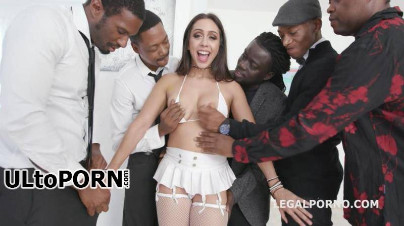 LegalPorno.com: Lilly Hall, Yves Morgan, Dylan Brown, Freddy Gong, Mr. Longwood - Waka Waka Blacks are Coming, Lilly Hall gets 5 BBC, balls deep anal, DP, DAP, Gapes, Creampie & Swallow GIO771 [1.57 GB / HD / 720p] (Anal)