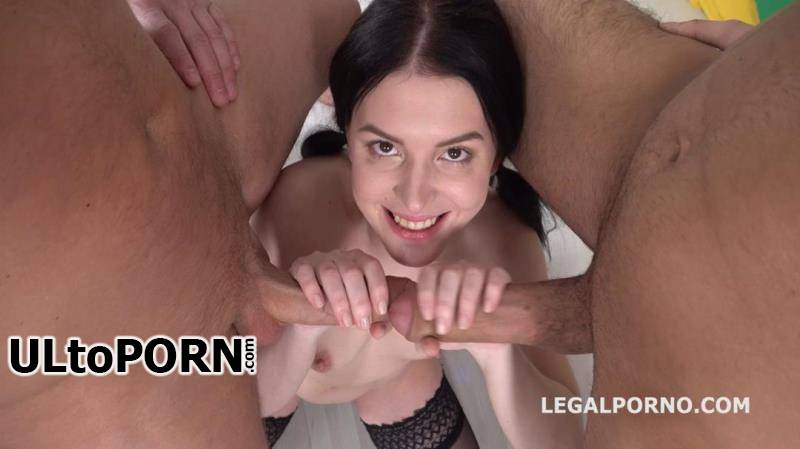 LegalPorno.com: Elley, Mr. Anderson, Oliver Stone - Elley gets 2on1 Anal and DP with rough sex, Manhandle, Gapes, Facial GL025 [1.41 GB / HD / 720p] (Anal)