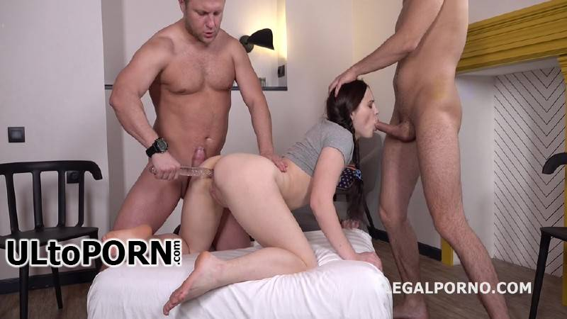 Nikki Hill - Nikki Hill gets 2on1 Anal and DP with Rough sex, Manhandle, Gapes, Facial GL028 [HD 720p] (1.70 GB) LegalPorno