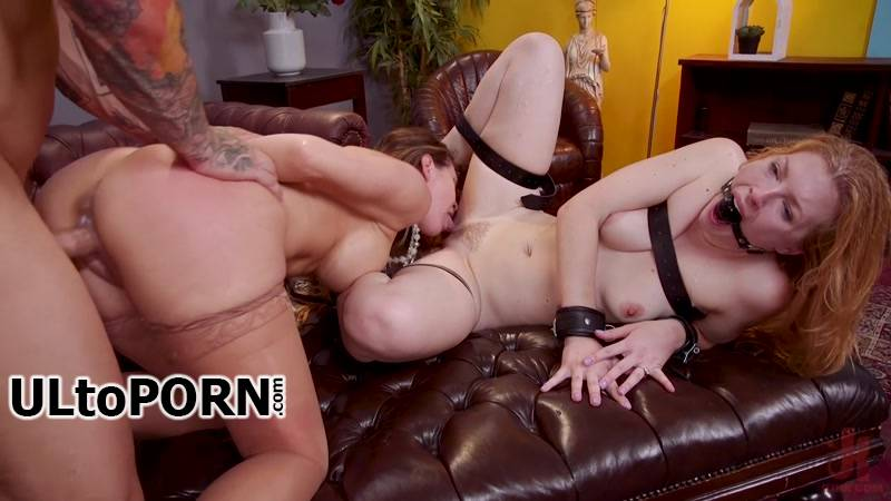 FamiliesTied, Kink.com: Cherie DeVille, Ella Nova, Derrick Pierce - Mommy's Girl: Anal Slut Didn't Save Enough Pussy For Step-Mommy [3.39 GB / HD / 720p] (Strapon)