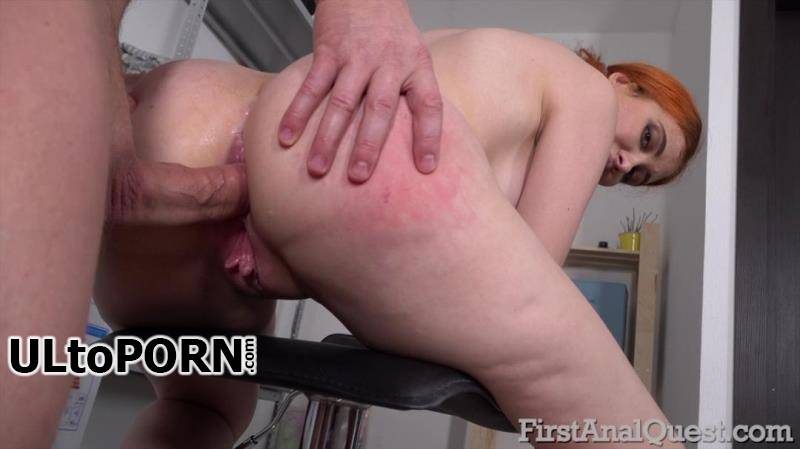 FirstAnalQuest.com: Gisha Forza - Young Girl loves Anal Fuck - 566 [2.37 GB / FullHD / 1080p] (Anal)