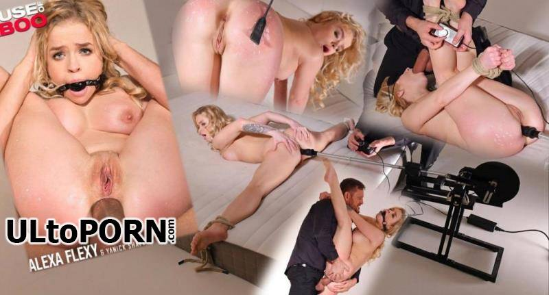 HouseOfTaboo.com, DDFNetwork.com: Alexa Flexy - Blonde Gets Trained in BDSM - Gagged, Candle Waxed, and Ass Fucked [2.32 GB / FullHD / 1080p] (Incest)