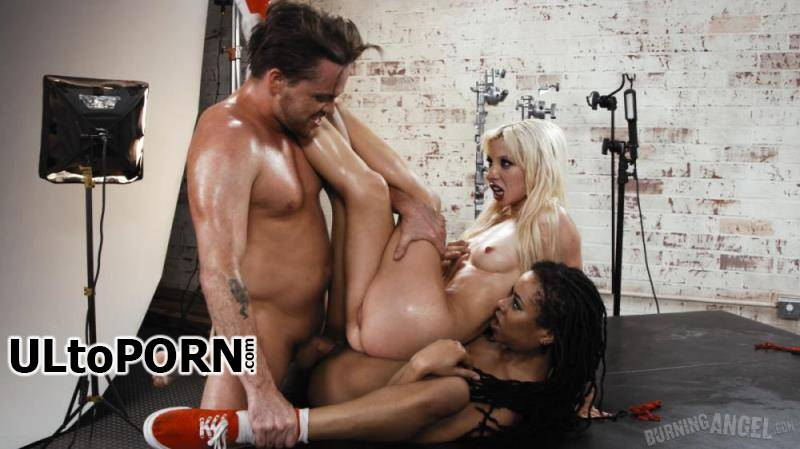 BurningAngel.com: Kira Noir, Kenzie Reeves - Three Cheers For Satan. Episode 2 [3.84 GB / UltraHD 4K / 2160p] (Threesome)