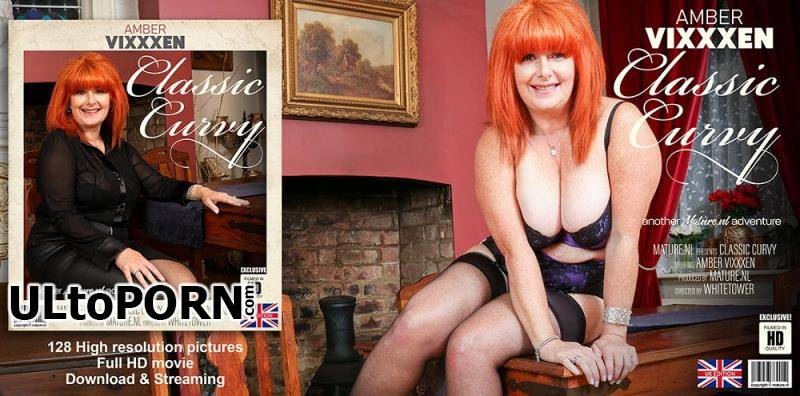 Mature.nl: Amber Vixxxen (EU) (56) - Spend an evening with Curvy Classic Amber Vixxxen [1.26 GB / FullHD / 1080p] (Mature)