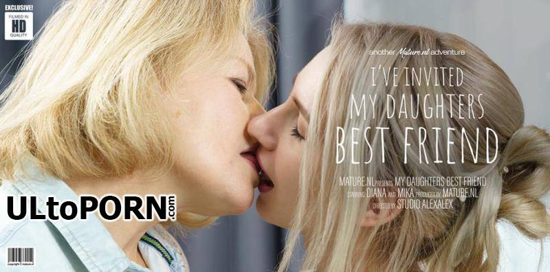 Mature.nl: Diana (54), Mika (21) - Diana invited her daughters best friend for a dinnerdate [1.21 GB / FullHD / 1080p] (Lesbian)