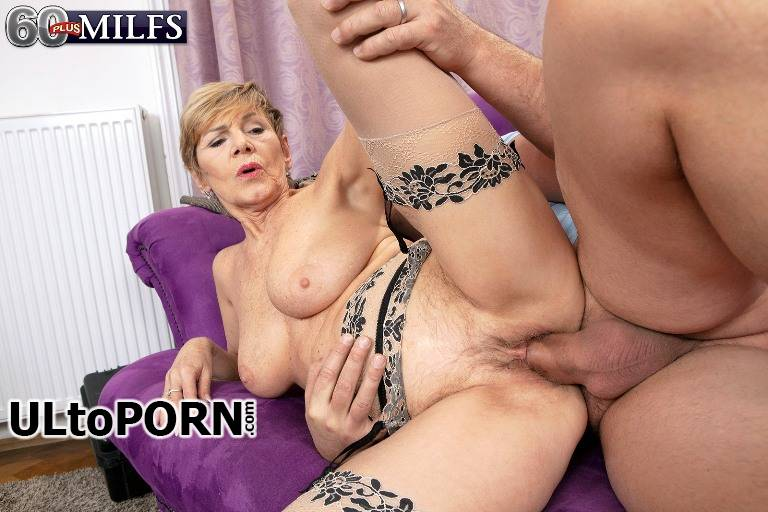 ScoreHD.com, PornMegaLoad.com, 60PlusMilfs.com: Nicol Mandorla - Granny Gets Hands On With The Handyman [1.55 GB / FullHD / 1080p] (Milf)