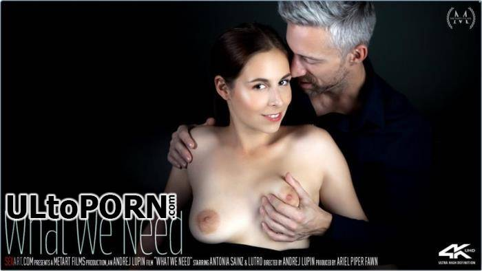 SexArt: Antonia Sainz, Lutro - What We Need (HD/720p/686 MB)