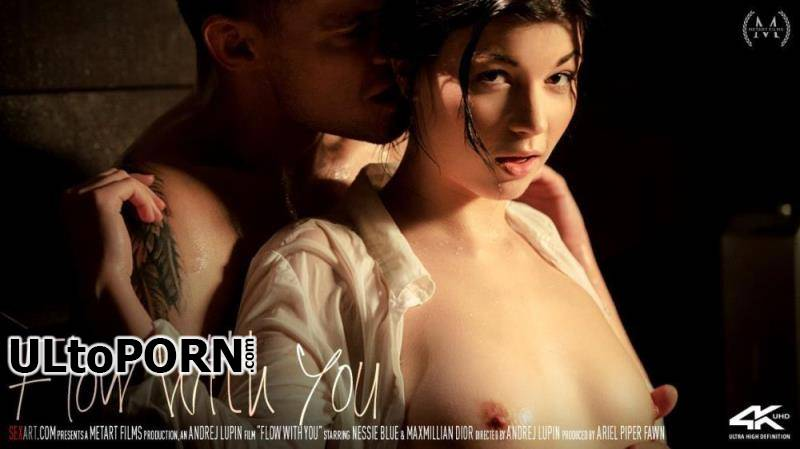 SexArt.com: Nessie Blue - Flow With You [283 MB / SD / 360p] (Brunette)